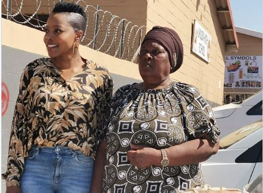 Nomcebo Zikode And Her Mother